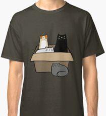 Katzen in einer Box Classic T-Shirt
