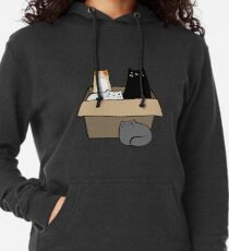 Cats in a Box Lightweight Hoodie
