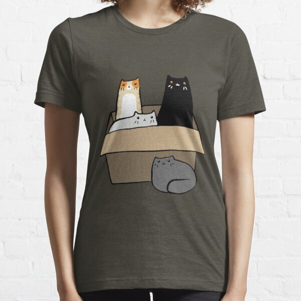 Cats in a Box Essential T-Shirt