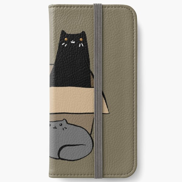 Cats in a Box iPhone Wallet