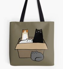 Cats in a Box Tote Bag