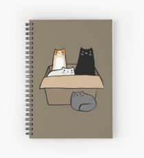 Cats in a Box Spiral Notebook