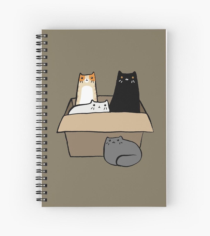 «Gatos en una caja» de SaradaBoru