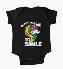 Don't tell me to smile One Piece - Short Sleeve