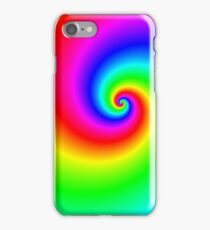 Multi-colored swirl iPhone Case/Skin