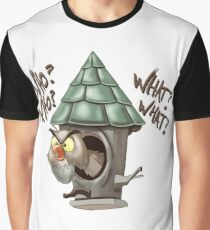 Archimedes Who Who What What? Graphic T-Shirt