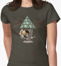 Archimedes Who Who What What? Women's Fitted T-Shirt