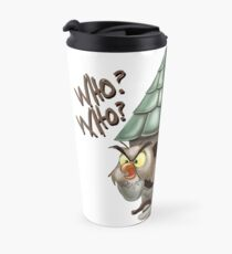 Archimedes Who Who What What? Travel Mug