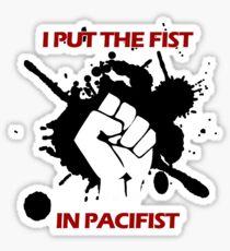 Pacifist Sticker