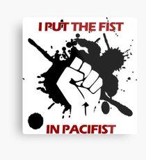 Pacifist Metal Print