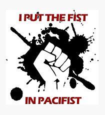 Pacifist Photographic Print