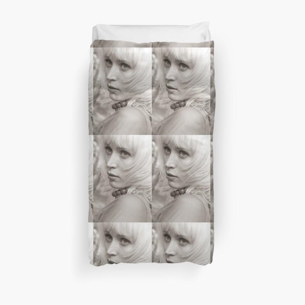 Blond Bettbezug