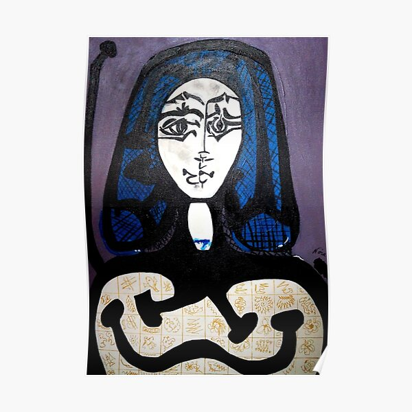 PICASSO PAINTING BY NORA  HAIR NET Poster