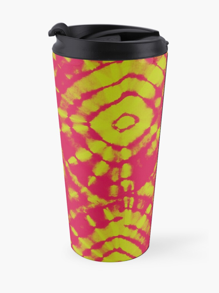 Alternate view of Fabric arts of florals effects Travel Mug