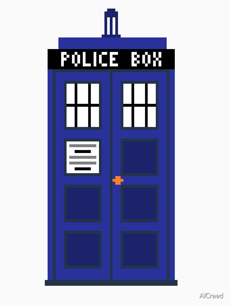 8-Bit TARDIS by AlCreed