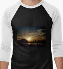 Summer Sunset Men's Baseball ¾ T-Shirt