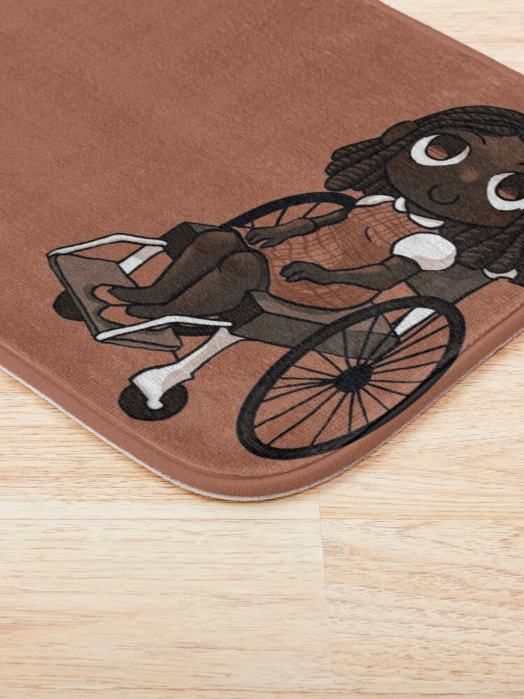 Alternate view of Wheelchair user Bath Mat