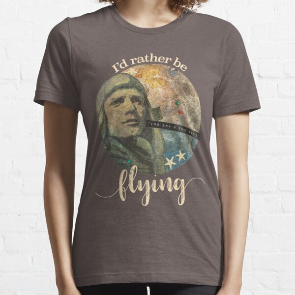Father's Day I'd Rather Be Flying Essential T-Shirt