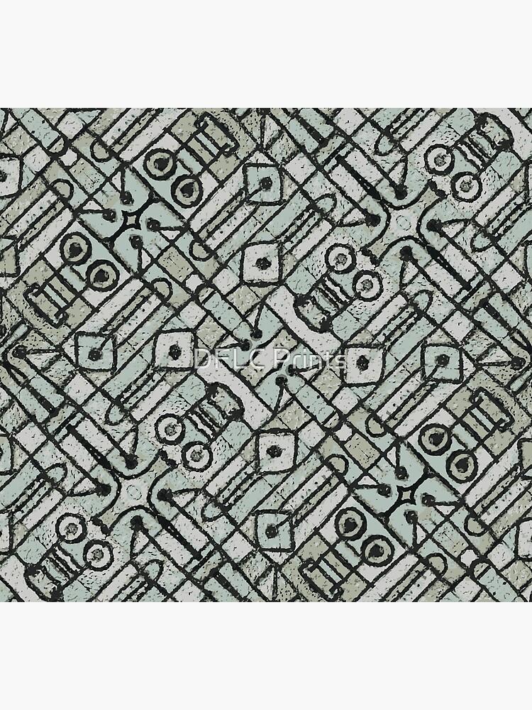 Geometric Ethnic Artwork by DFLCreative