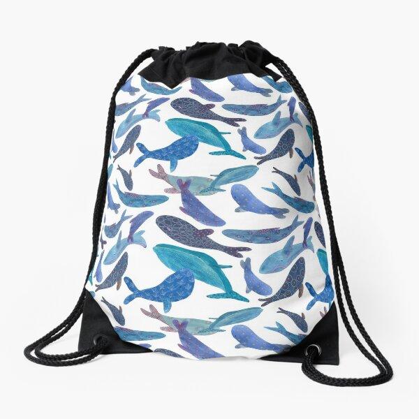 Ballenas estampadas Mochila saco