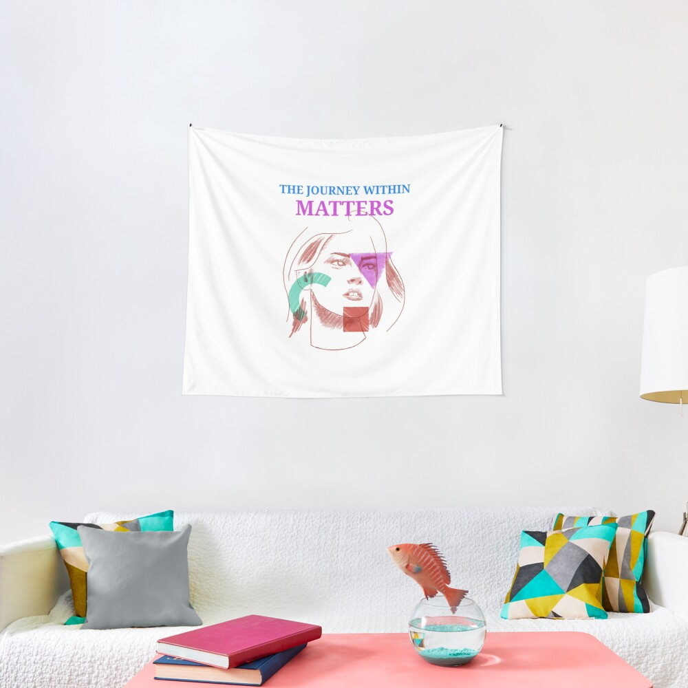 The Journey Within Matters - Mental Health Month Tapestry