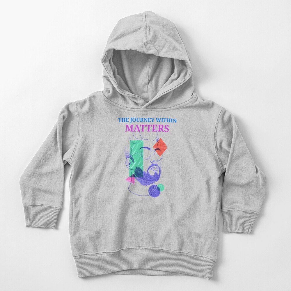 The Journey Within Matters - Mental Health Month Toddler Pullover Hoodie