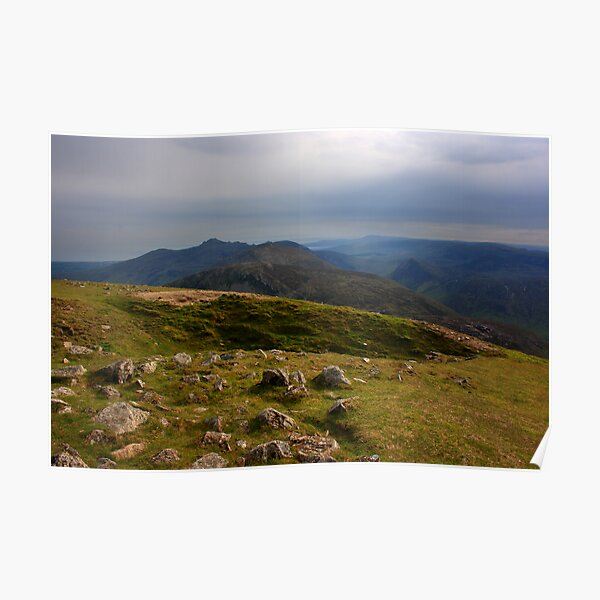 Mourne Mountains From Slieve Commedagh Poster