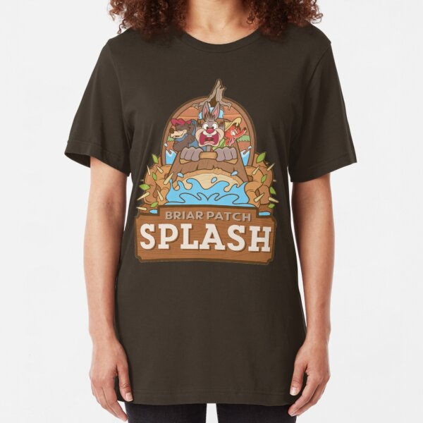 Briar Patch Splash Slim Fit T-Shirt