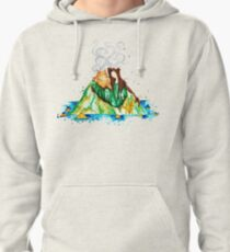 I Lava You Volcanoes in Hawaii - I Love You Pullover Hoodie