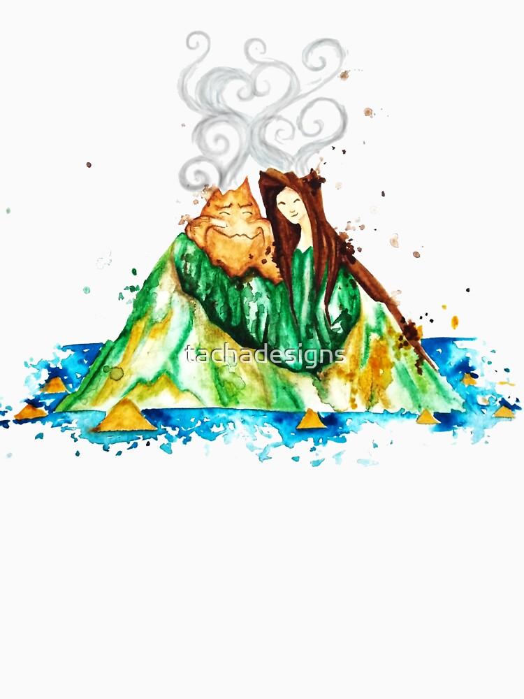 Ich Lava Sie Vulkane in Hawaii - Ich liebe dich von tachadesigns