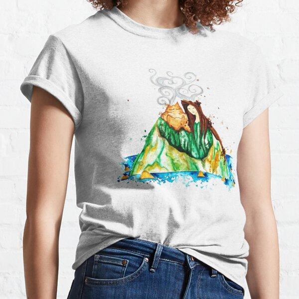 Te lavo volcanes en Hawai - Te amo Camiseta clásica
