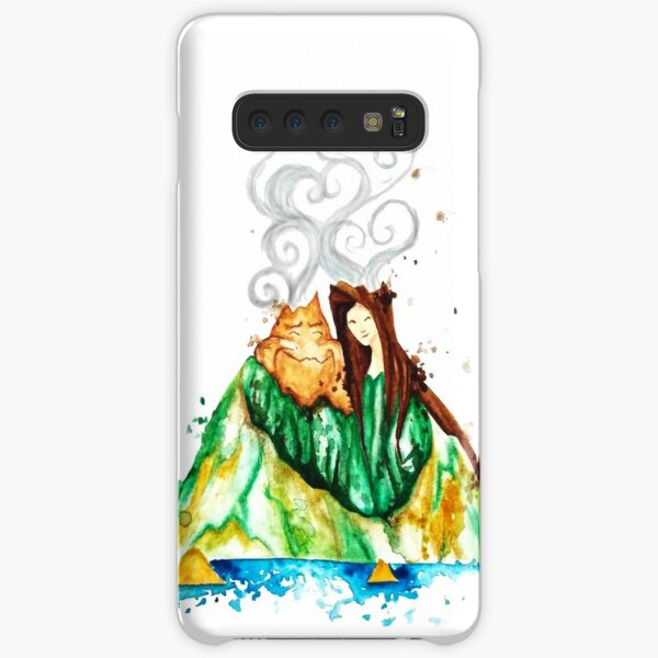 I Lava You Volcanoes in Hawaii - I Love You Samsung Galaxy Snap Case