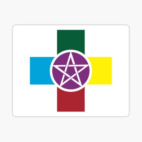 Magic & Elemental Healer Sticker