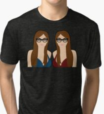 Seeing Double Tri-blend T-Shirt