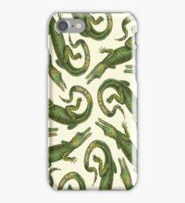 Green Alligators iPhone Case/Skin