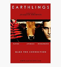 """""""Earthlings"""" Movie Cover Photographic Print"""