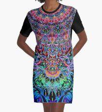 Mandala Energy Graphic T-Shirt Dress