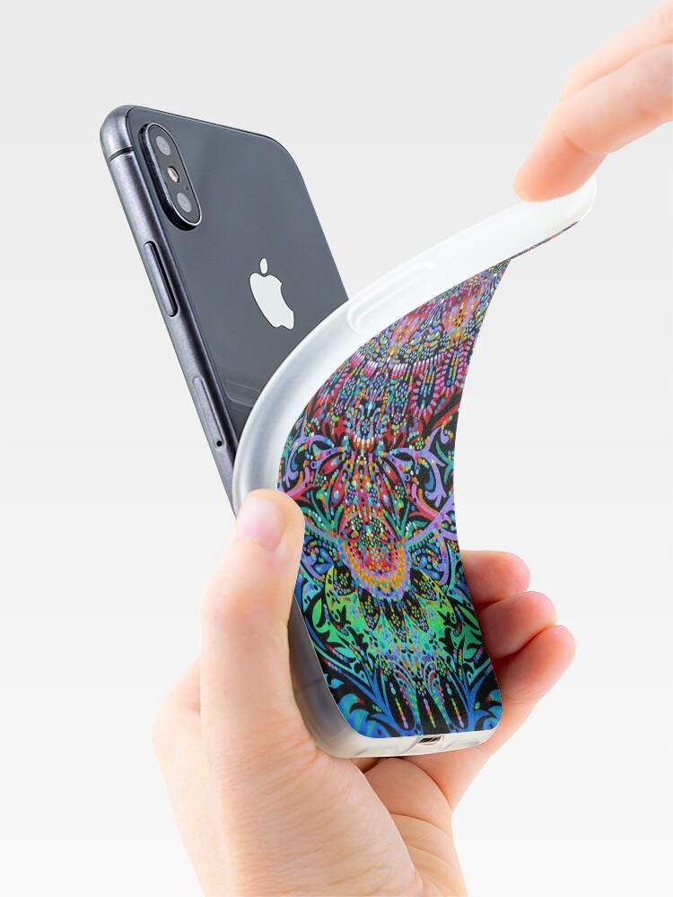 Vista alternativa de Funda y vinilo para iPhone Mandala Energy