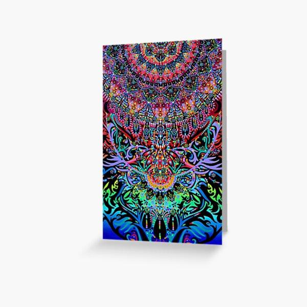 Mandala Energy Greeting Card