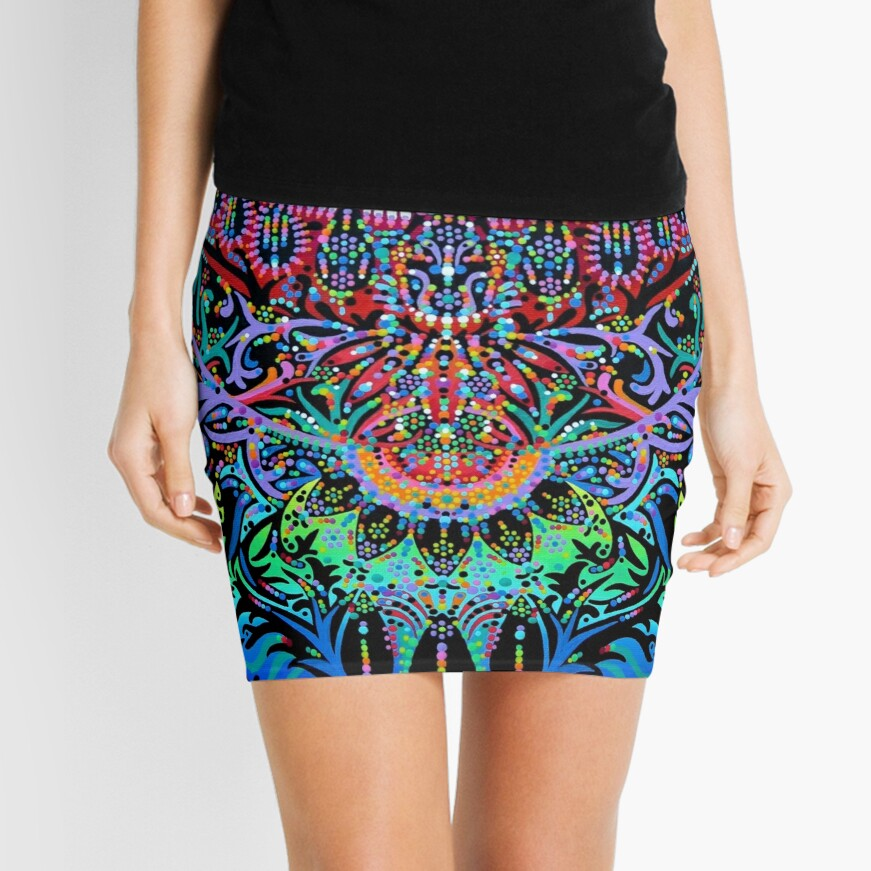 Mandala Energy Mini Skirt