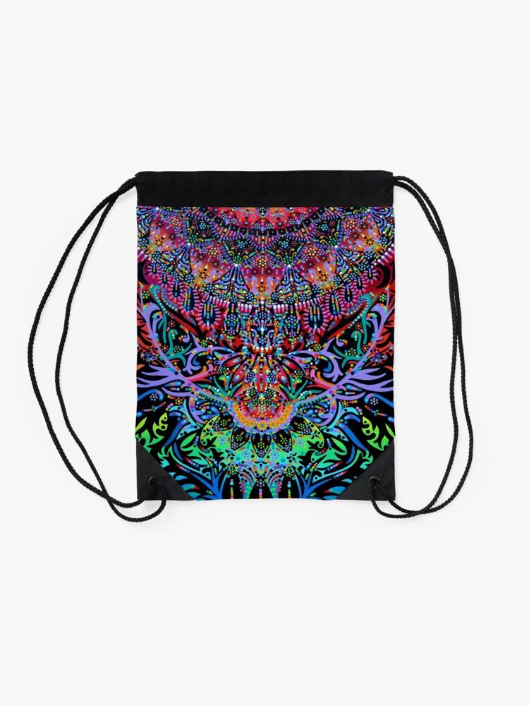 Alternate view of Mandala Energy Drawstring Bag