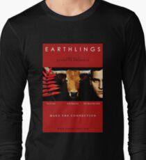 """Earthlings"" Movie Cover Long Sleeve T-Shirt"