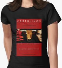 """Earthlings"" Movie Cover Women's Fitted T-Shirt"