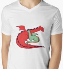 Red and Green Dragon T-Shirt
