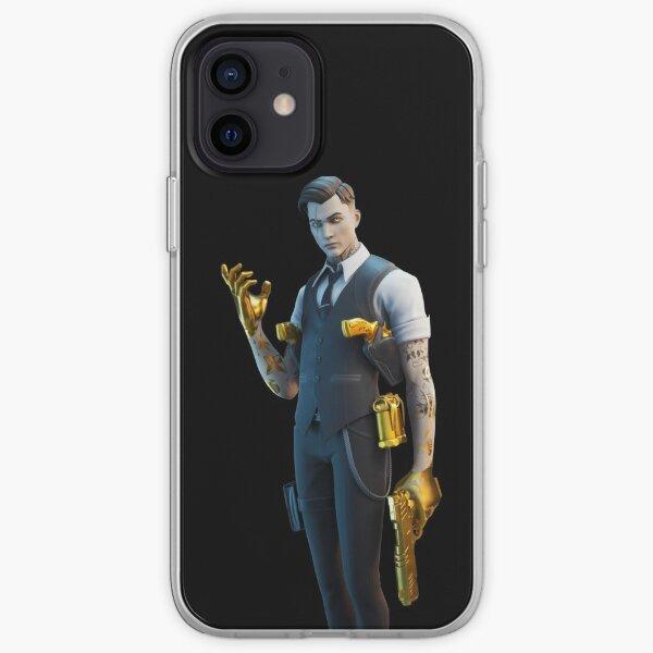 midas skin gold  iPhone Soft Case