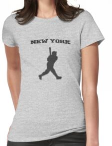 babe ruth Womens Fitted T-Shirt