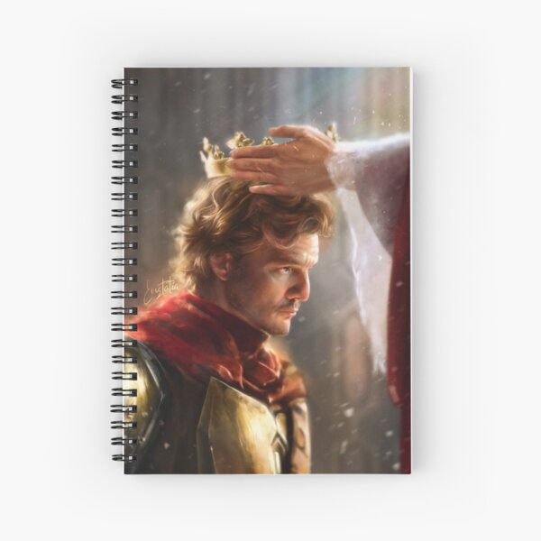 Hail to the King Spiral Notebook