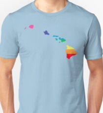 rainbow hawaii Unisex T-Shirt