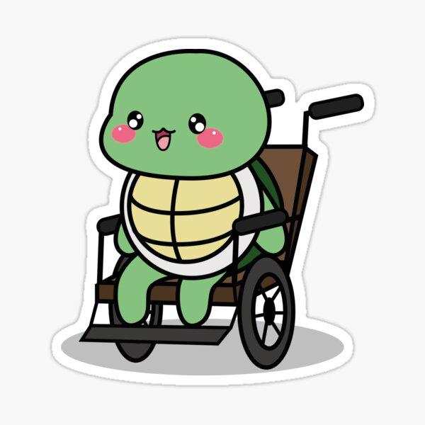 OTDUDE FUNctional Friends Turtle Sticker
