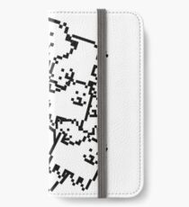 Undertale annoying dog collage iPhone Wallet/Case/Skin